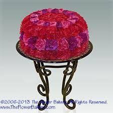 Image result for cake-flower arrangements