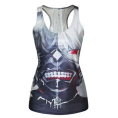 gym excercise sexy Sailor moon tanktop cosplay outfit hot topic anime manga luna tee t-shirt