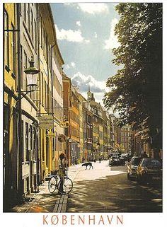 Postcard of Copenhagen, Denmark