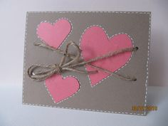 CAS Valentines Day, Arts And Crafts, Cards, Google, Card Ideas, Card Crafts, Valentine's Day Diy, Maps, Art And Craft