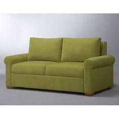Lazar Endicott Sleeper Sofa Size: King, Upholstery: DumDum Cherry, Leg Finish: Walnut