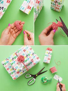 Bookmark this for 21 hacks for wrapping a holiday present perfectly every time! #partner