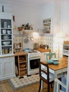 Living like . This time: Member MiMaMeise - Küche ♡ Wohnklamotte - Kitchen Ideas Beautiful Kitchens, Cool Kitchens, Diy Kitchen, Kitchen Decor, Decorating Kitchen, Little Kitchen, Sweet Home, Kitchen Views, Cuisines Design