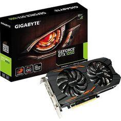 Gigabyte Video Card GV-N1050WF2OC-2GD GTX1050 2GB GDDR5 WindForce DVIHDMI