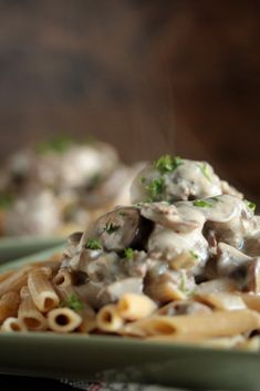 Healthy Beef Stroganoff - I love how cozy and warm this is on chilly winter nights!