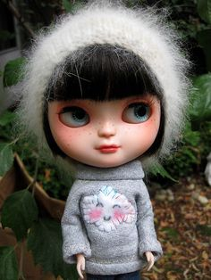 Custom Icy Doll Blythe Clone OOAK Lovely | eBay -- this Icy is very sweet