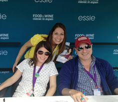 Aspen Food and Wine Classic; Gail Simmons and Tom Colicchio