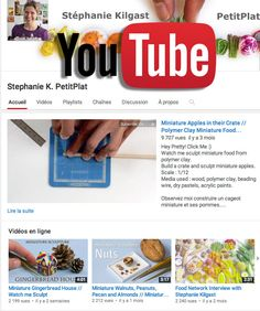Youtube Account - Stephanie K. PetitPlat