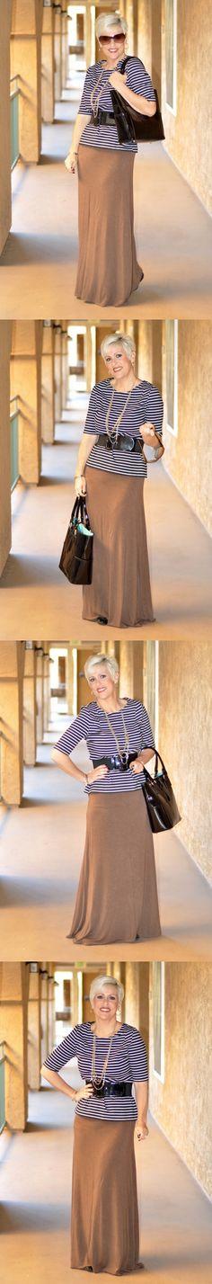 Be Inspired :: Stripes :: Black & White:: Choose everyday to Dress With Purpose! www.dresswithpurpose.com