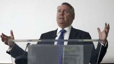 """Image copyright                  PA Image caption                                      Liam Fox is in charge of developing new trade links around the world                                The UK is to begin preliminary talks with Australia about the outline of a future free trade deal between them. Officials will meet twice a year to discuss the parameters of what both sides said they hoped would be an """"ambitious and comprehensive"""" d"""