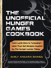 Hunger Games cookbook, JUST BOUGHT IT!