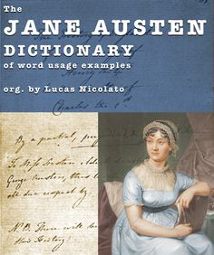 The Jane Austen Dictionary of Word Usage