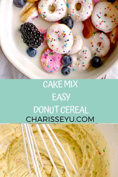 This donut cereal recipe is so so fun! It's perfect for a summer activity with the kids and is so delish. Not to worry, I've created an easy shortcut to make this recipe into a 30 minute meal. Breakfast On The Go, Quick And Easy Breakfast, Donut Icing, Easy Toddler Meals, Cereal Recipes, 30 Minute Meals, Fun Activities, Donuts, Toddlers