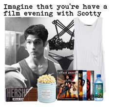 #Imagine that you're have a film evening with Scotty