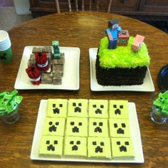 Charlie's Minecraft Party