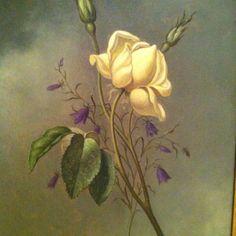 Painting at Crystal Bridges! Pretty!