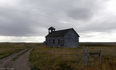 Old Cottonwood Church, Montana