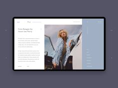 T-J Editorial Blog Article Inner Page Concept by Zhenya & Artem