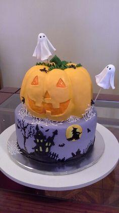 Hallowen cake Cake, Desserts, Food, Caves, Pie Cake, Tailgate Desserts, Pastel, Meal, Dessert