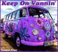 Peace nd Purple Purple Love, All Things Purple, Shades Of Purple, Deep Purple, Pink Purple, Aqua Blue, Purple Cars, Purple Stuff, Volkswagen Bus
