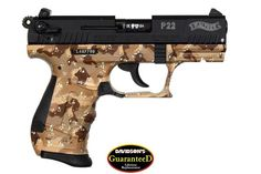 Walther p22 desert camo
