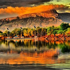 Townsville; I wanna visit purely because the name is so redundant.