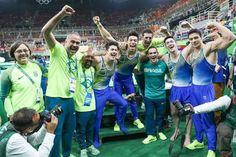 Brasil termina em sexto na ginástica masculina e faz história