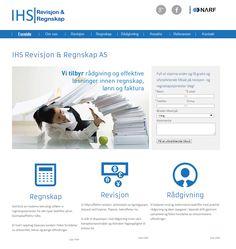 Dette er nettsiden til IHS Revisjon & Regnskap.