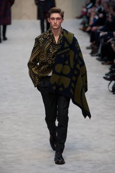 Défilé Burberry Automne-hiver 2014-2015 Homme - Madame Figaro