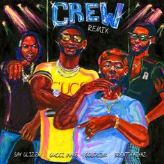 "Gucci Mane adds a verse to the official remix of GoldLink's ""Crew"". His new album At What Cost is available now.."