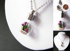 Miniature Origami Irises by Paper-Peaches.deviantart.com