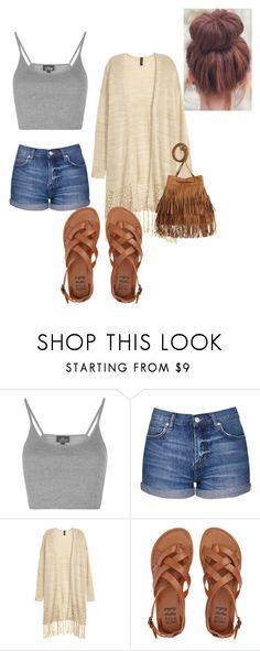 """""""Fall Day"""" by air-bear-disigns on Polyvore featuring Topshop and Billabong"""