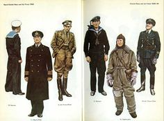 Naval, Marine and Air Force Uniforms of World War 2