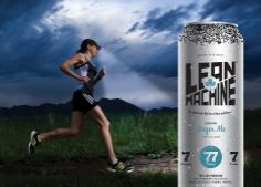 canadian company claims to have a beer that's good for people that exercise. it's a gimmick. 1. it's 0.5% abv. 2. the can says lager ale.