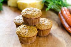 Carrot Pineapple Paleo Muffins via @cookeatpaleo