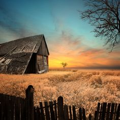 Old playground house by Caras Ionut