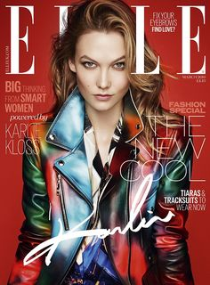 Karlie opened up on friendships in the latest issue of Elle magazine for which she is the ...