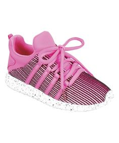 Hot Pink Riancy Sneaker - Toddler & Girls