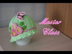 Мастер-класс по вязанию шляпки крючком