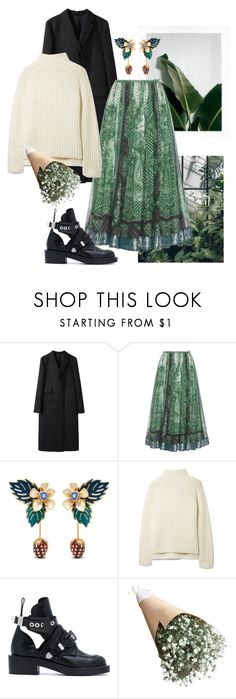"""""""Canopy"""" by toocurltocare ❤ liked on Polyvore featuring Margaret Howell, Etro, Mulberry, Theory and Balenciaga"""