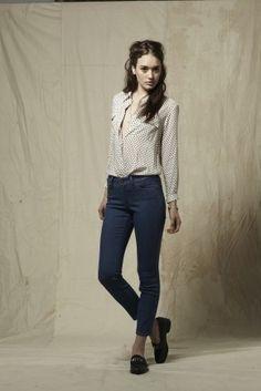 blouse/hair