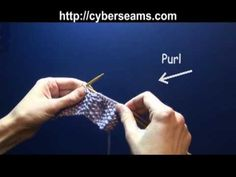 Video Tutorial:  How to Knit the Seed Stitch.      The only way I have learned how to knit anything is through videos!  Saving this one for later.