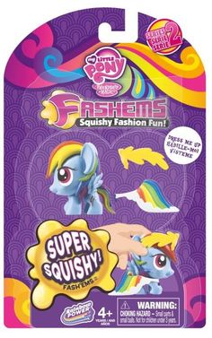 543f75bfde0 MLP Fashems Series 2 Fashion Rainbow Dash All My Little Pony