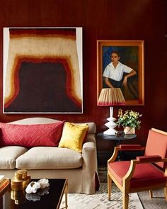 #traditional #tuesday and we're swimming in the rich colors of this design by @douglasmackie. What's not to love about this remarkable composition?