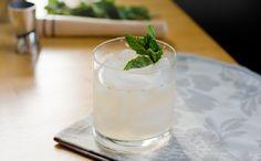 Mint Grapefruit Vodka Sour
