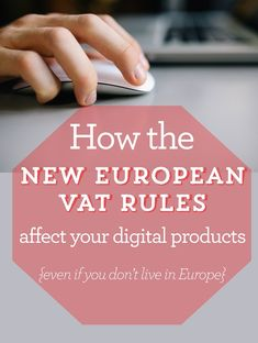 Great blog post via @blogtacular to help you think about the European VAT rules for digital downloads, esp if you're a blogger that takes sponsorship
