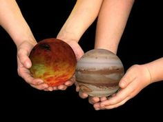 Ideas for a 3D Solar System Project