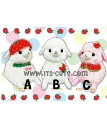 50cm Big Alpacasso Alpaca Amuse Love Berry Plush Doll!