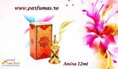 Esenta de parfum Al Haramain Amira 12ml Pret nou: 73 RON www.parfumas.ro Parfum feminin oriental floral, plin de senzualitate, cu note florale delicate si tonuri calde de mosc.