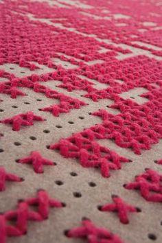 Karpet Abstract pink